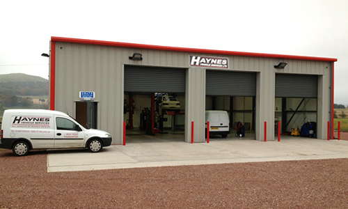 Haynes Vehicle Services workshop