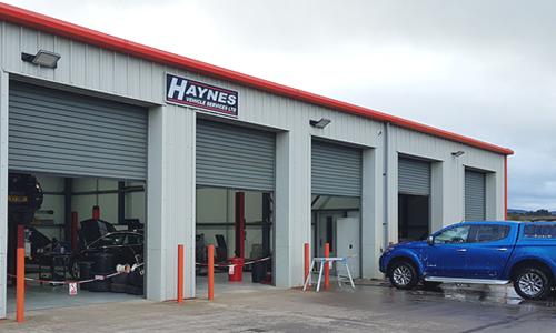 Haynes Vehicle Services workshop